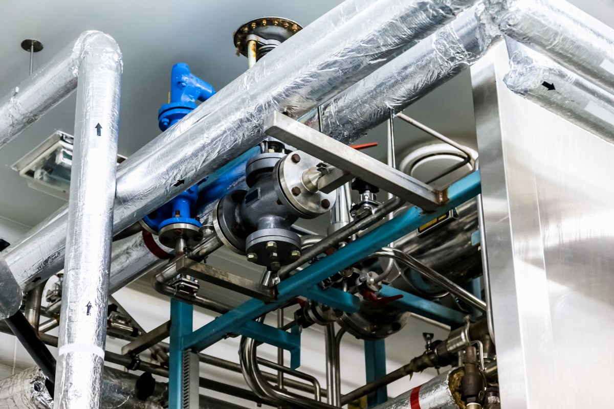 Cleaning for oxygen (Degreasing) image